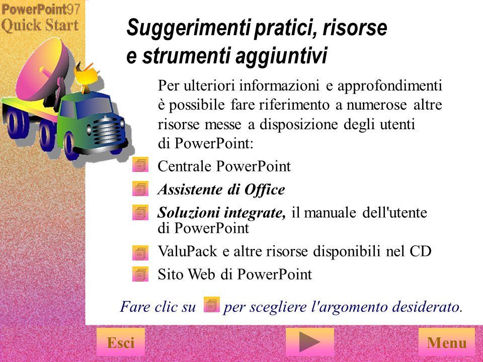 PowerPoint rappresenta lo strumento più semplice per creare e pubblicare intestazioni Web animate.