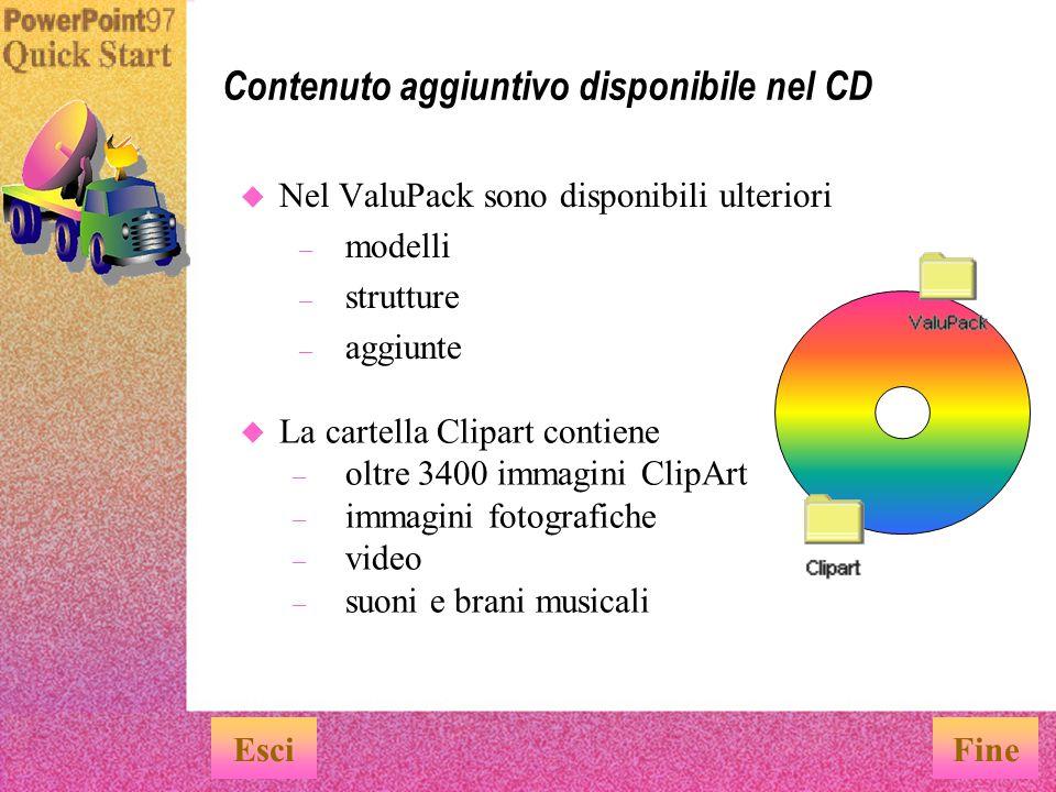 u Nel CD sono disponibili le versioni in linea dei manuali dell utente di PowerPoint e Office.