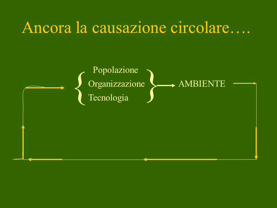 Uno schema che diventa modello di ricerca Esempio 1: analisi di un conflitto ambientale gli abitanti del quartiere Quadraro di Roma si oppongono ad un piano di riqualificazione dell'area, ritenendolo snaturante P Ss T A Sc Sp