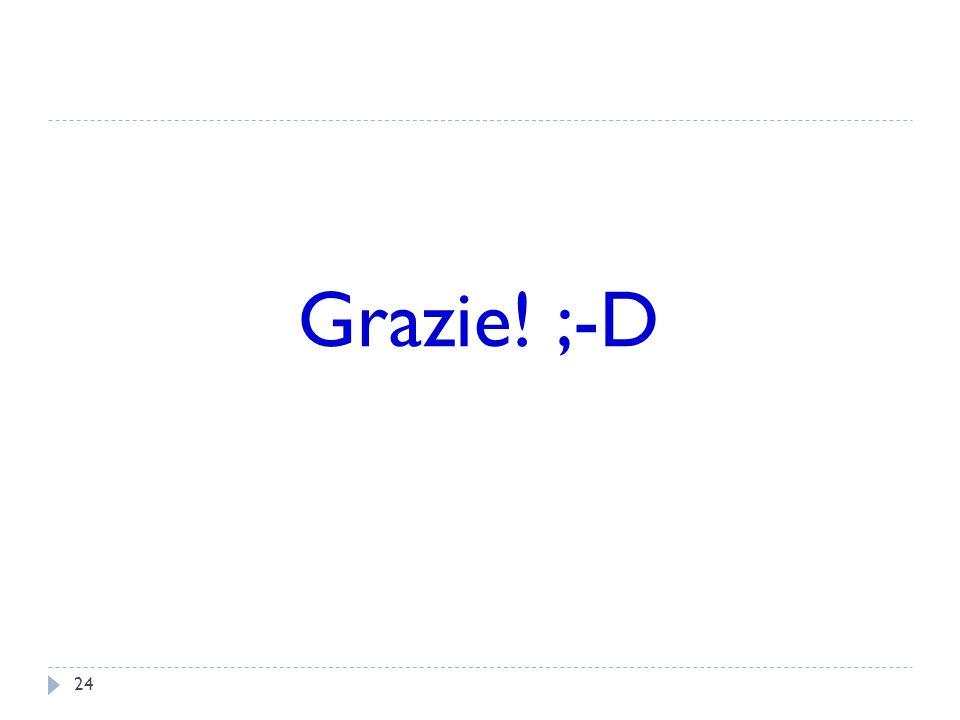 24 Grazie! ;-D