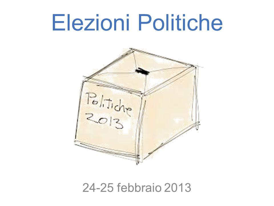 Elezioni Politiche 24-25 febbraio 2013