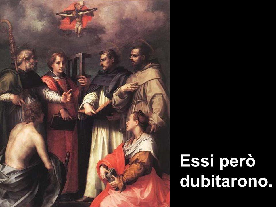 Le tre figure angeliche rappresentano il Padre, il Figlio e lo Spirito Santo: sono assorti in una santa conversazione che non li rende inaccessibili e lontani, ma che coinvolge Abramo e noi.
