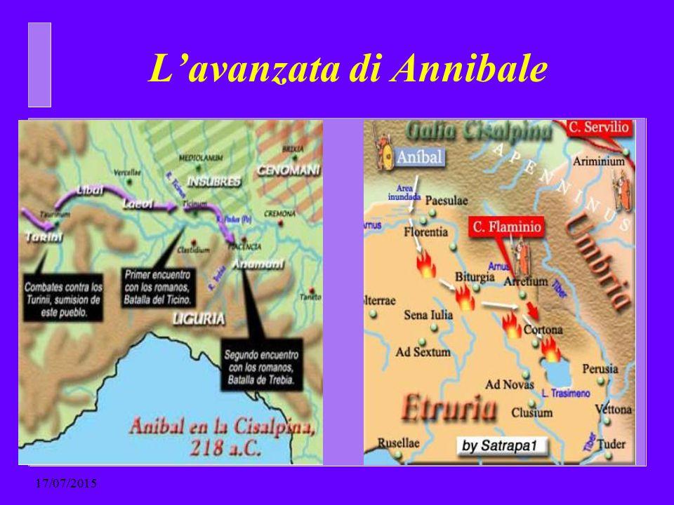 L'avanzata di Annibale 17/07/2015