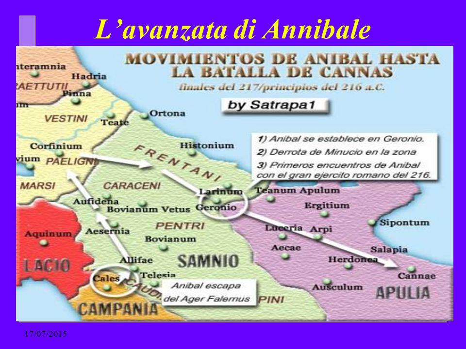 L'avanzata di Annibale