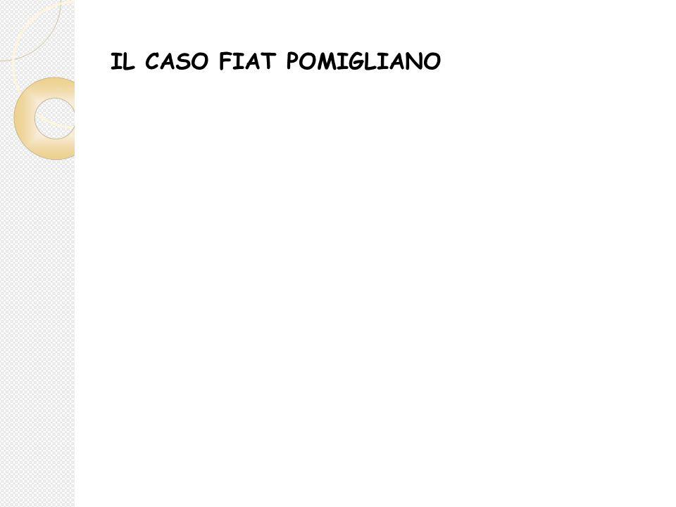 IL CASO FIAT POMIGLIANO