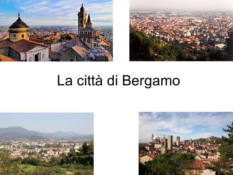 La città di Bergamo