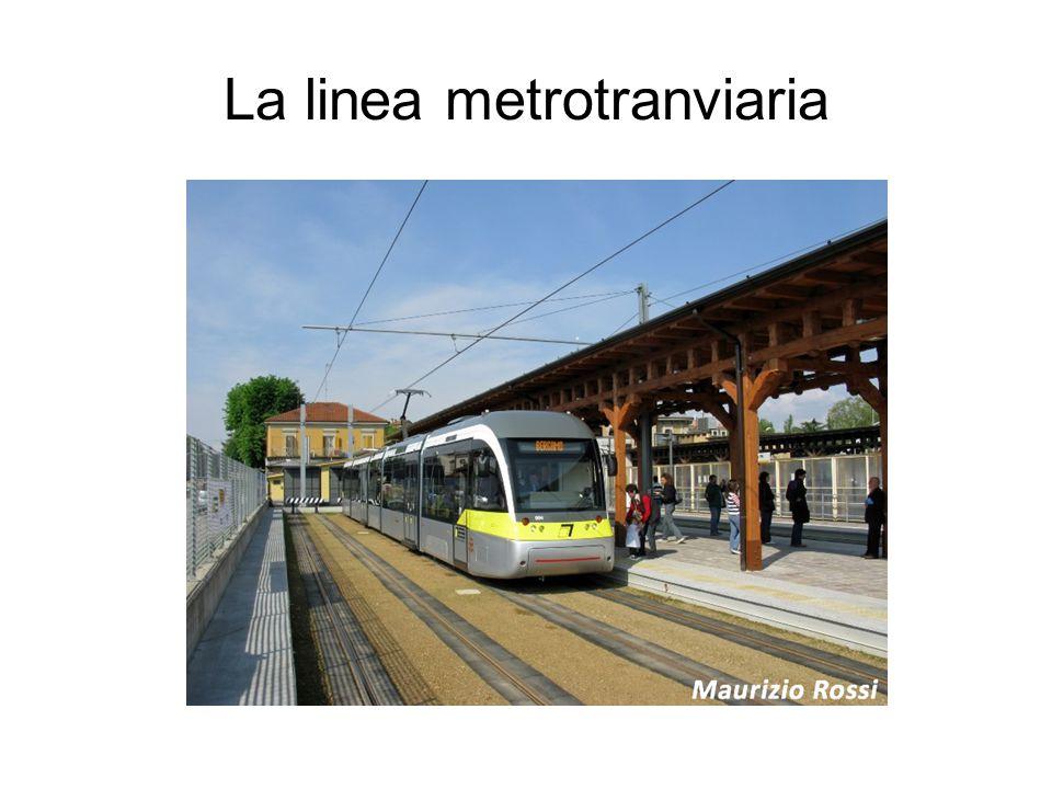 La linea metrotranviaria