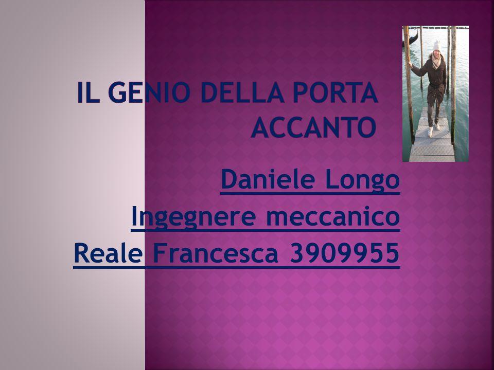 Daniele Longo Ingegnere meccanico Reale Francesca 3909955