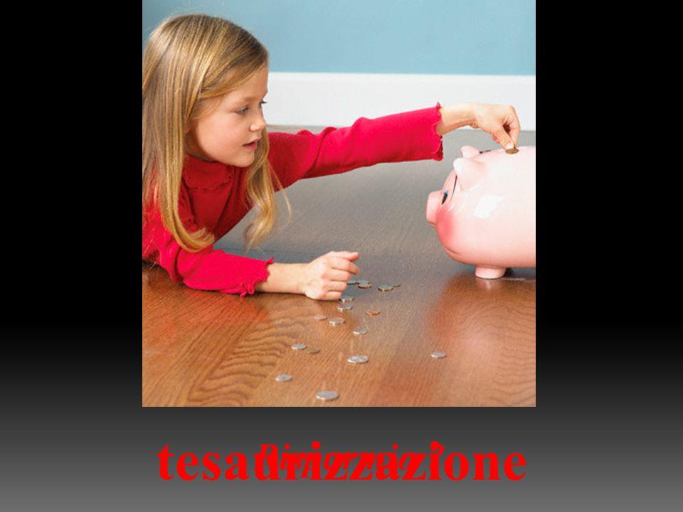 Risparmio tesaurizzazione