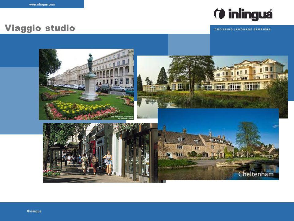 © inlingua www.inlingua.com C R O S S I N G L A N G U A G E B A R R I E R S Viaggio studio