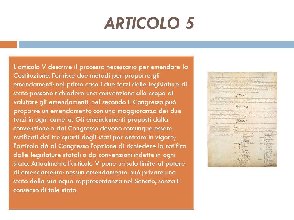 LA COSTITUZIONE AMERICANA (3) La Costituzione statunitense si definisce come