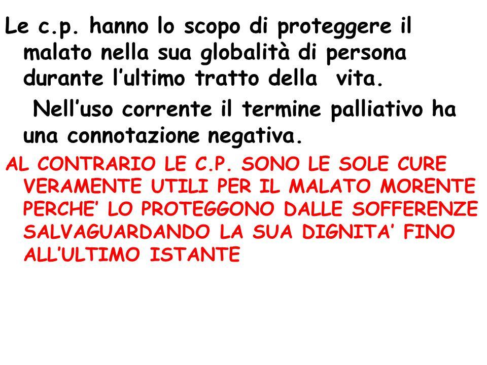 Le specificità della Regione Lazio Villa Speranza Hospice Oncologico dell'Università Cattolica del S.