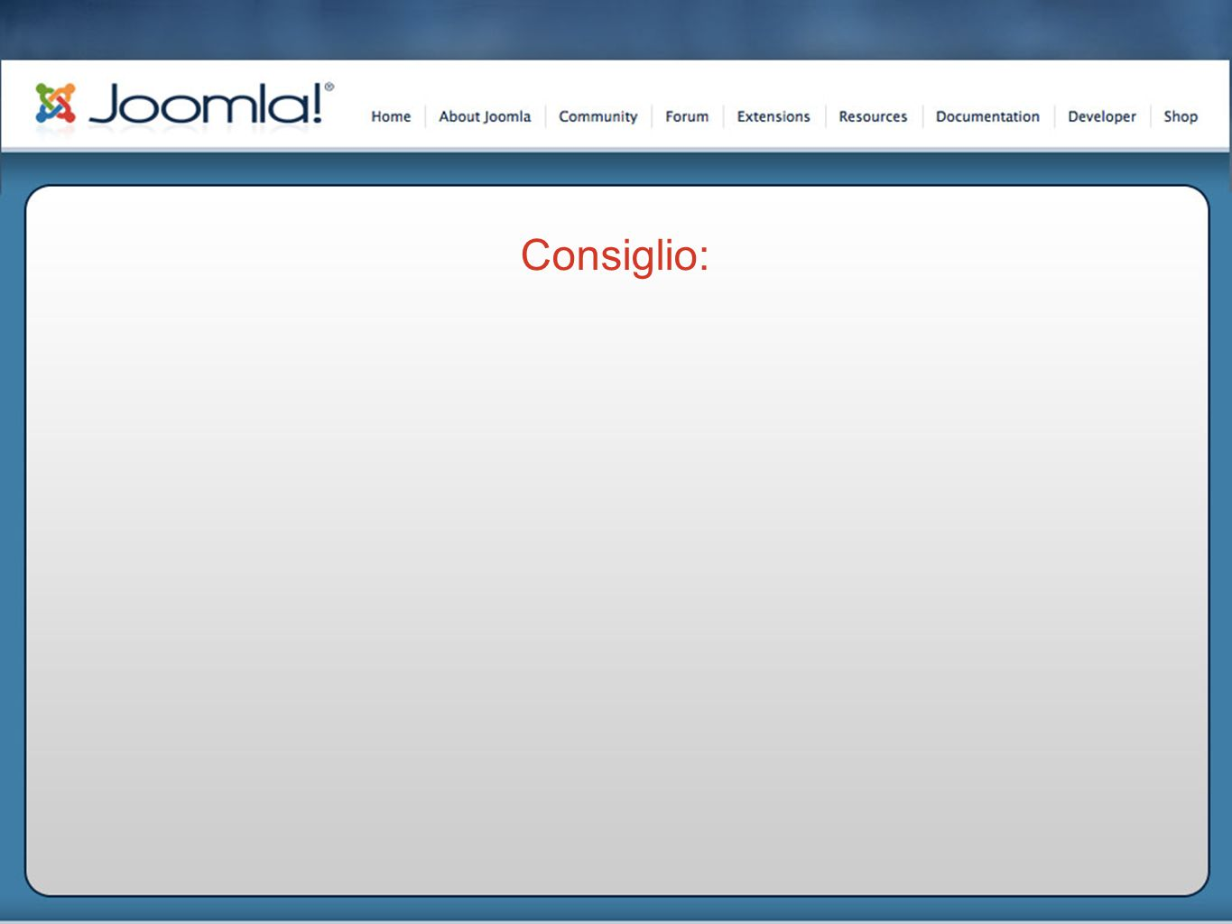 Sempre in Configurazione Globale, Sef Url: Rinominare il file htaccess.txt in.htaccess