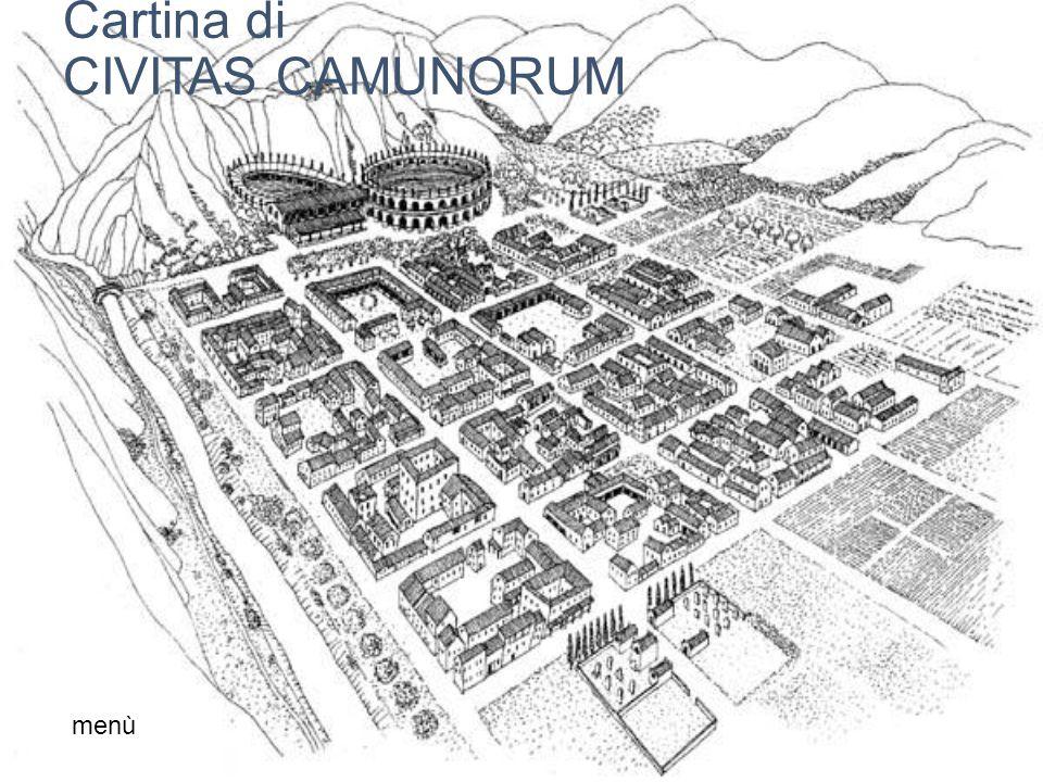 Cartina di CIVITAS CAMUNORUM menù