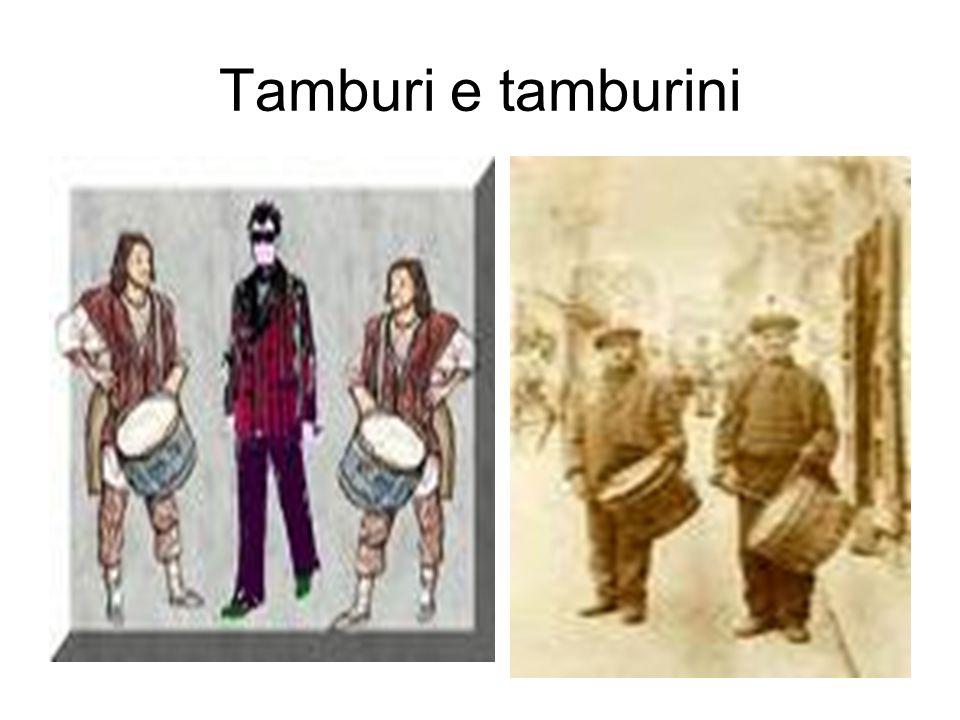 66 Tamburi e tamburini