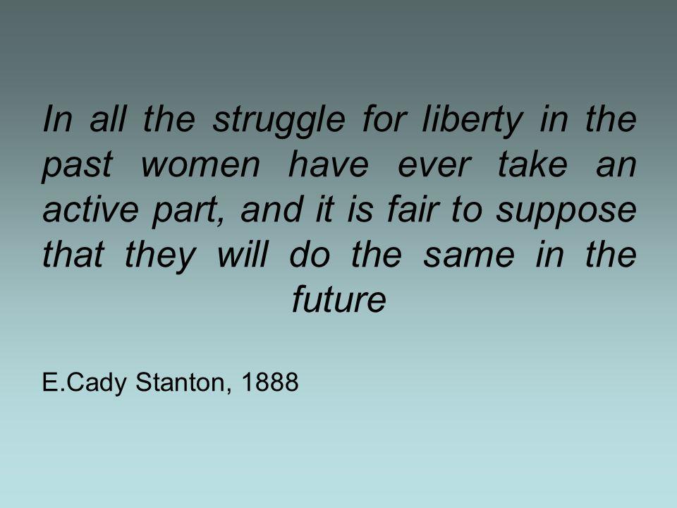 La lotta contro lo schiavismo Importante per lo sviluppo del femminismo in Usa fu il movimento antischiavista.