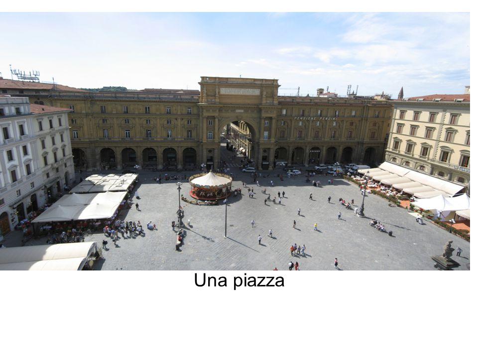 Una piazza