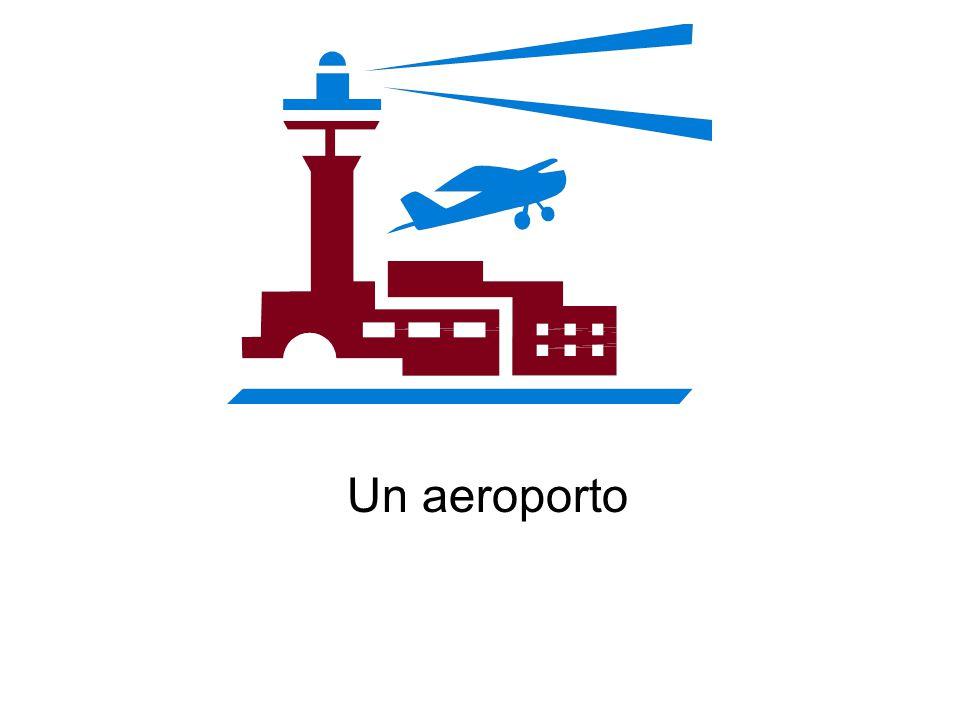 Un aeroporto