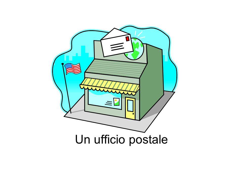 Un ufficio postale