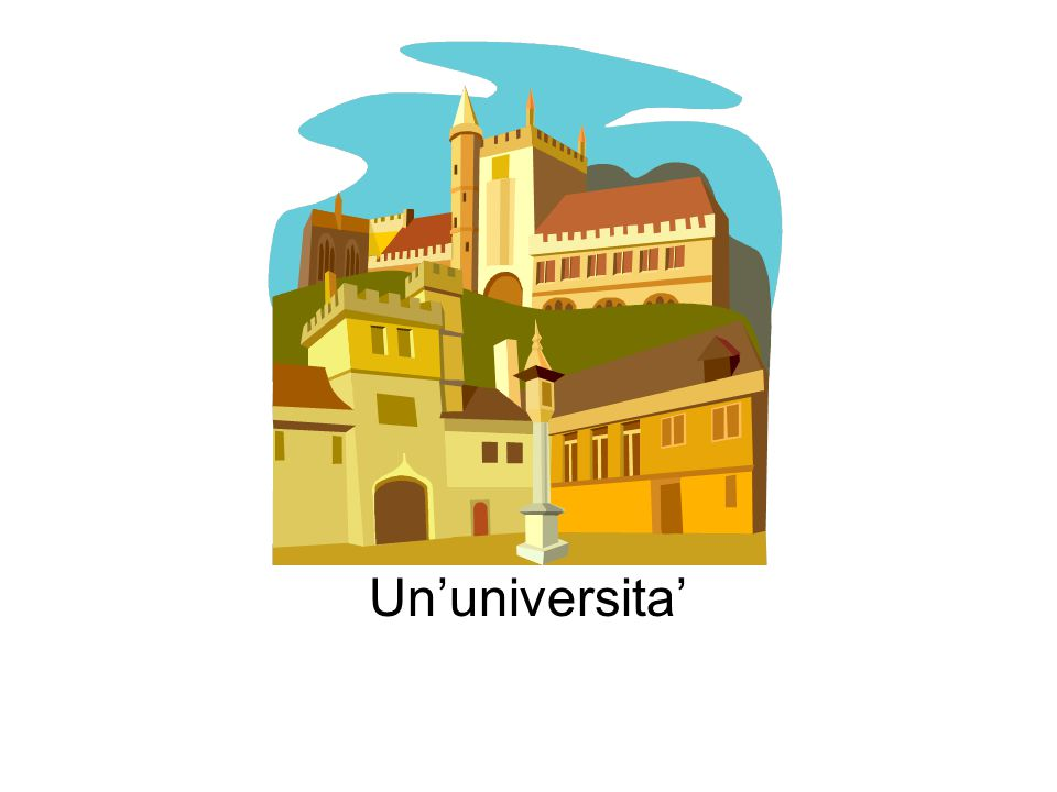 Un'universita'