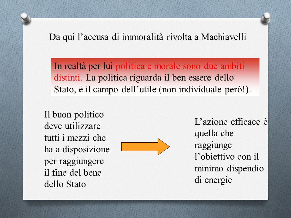 """Chi sta al potere ha a che fare con una natura umana che Machiavelli così definisce: """" delli uomini si può dire questo generalmente: che sieno ingrati"""