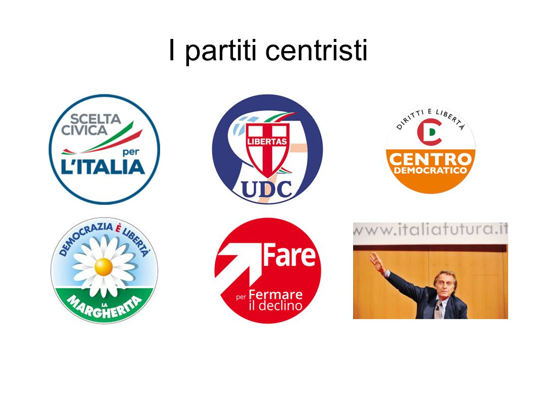 I partiti centristi