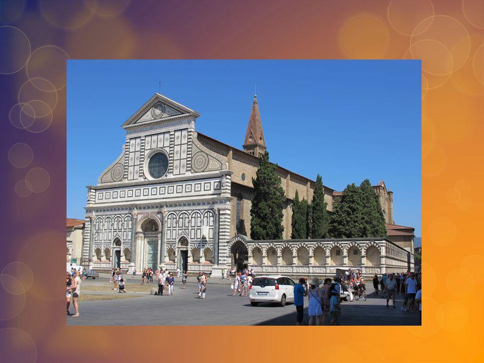 L'interno Santa Maria Novella fu la prima basilica dove vennero usati elementi dell architettura gotica a Firenze.