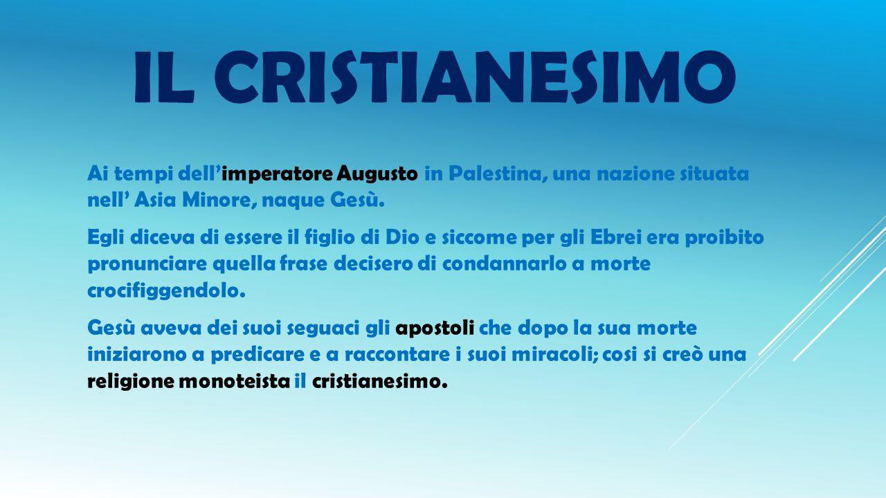 STORIA IL CRISTIANESIMO