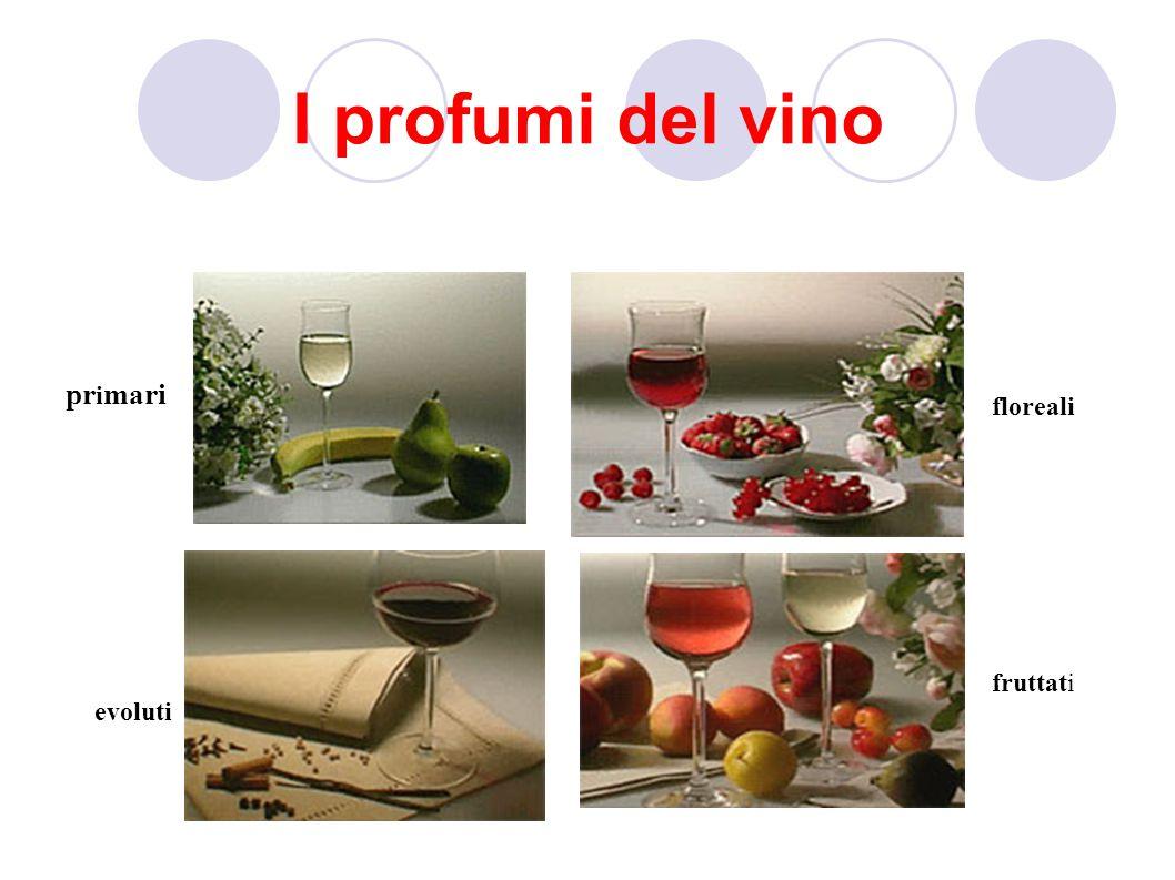 I profumi del vino pr i mari floreali fruttati evoluti