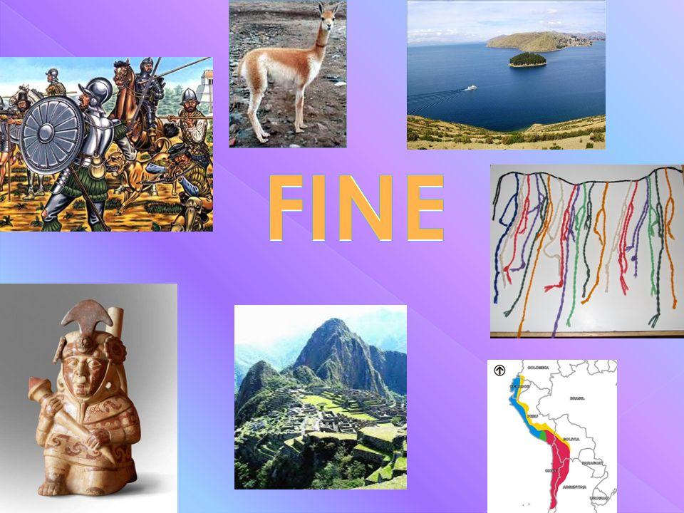 La conquista dell'impero Inca è avvenuta nei primi decenni del 1500 per mano degli avventurieri spagnoli, detti conquistatores, che con un colpo di ma