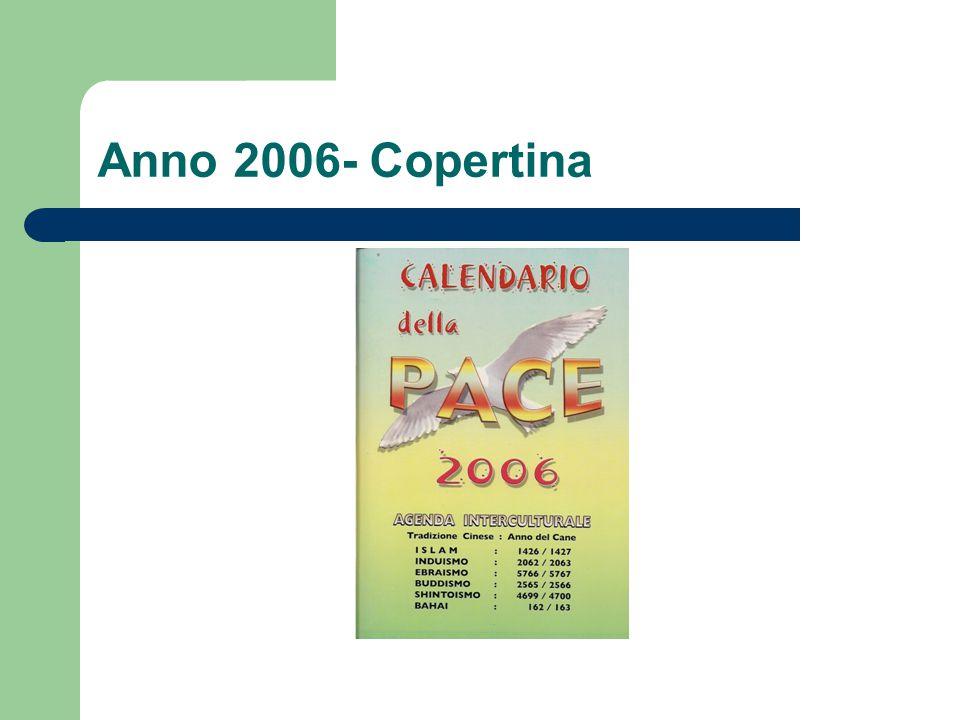 Anno 2006- Copertina