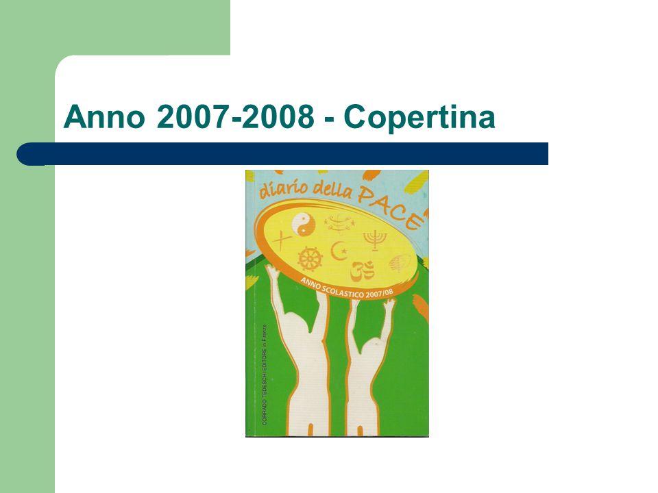 Anno 2007-2008 - Copertina