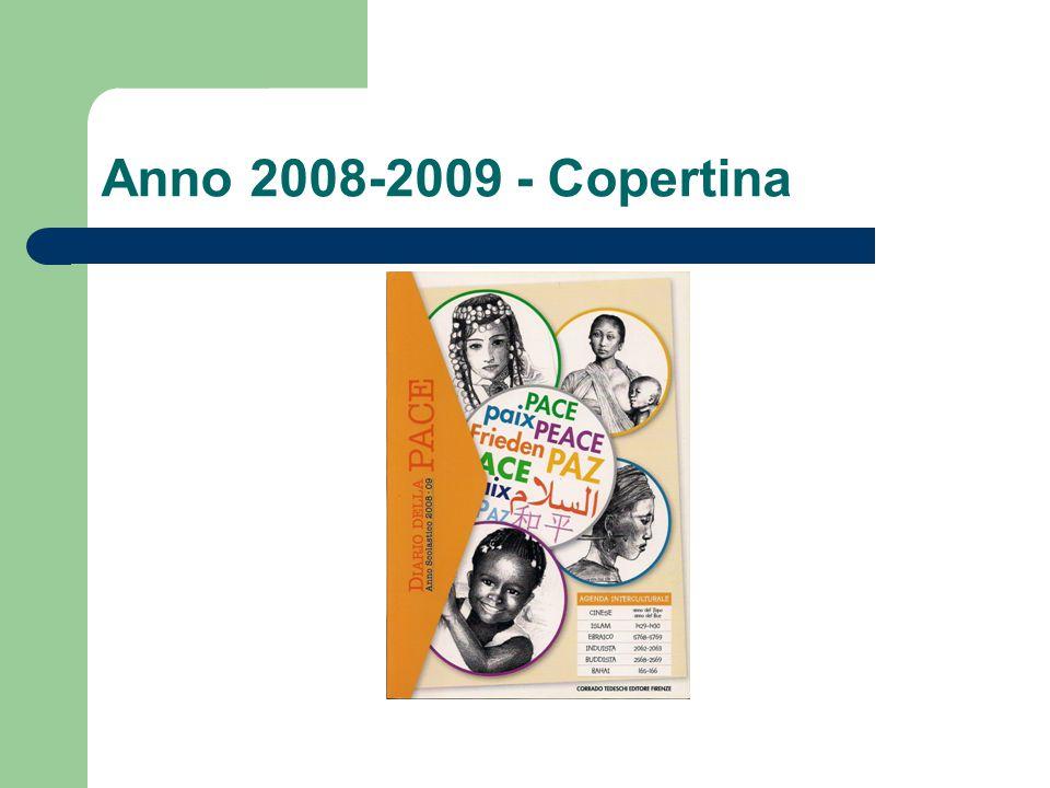 Anno 2008-2009 - Copertina