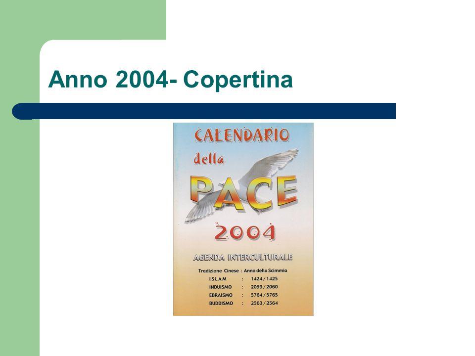 Anno 2004- Copertina