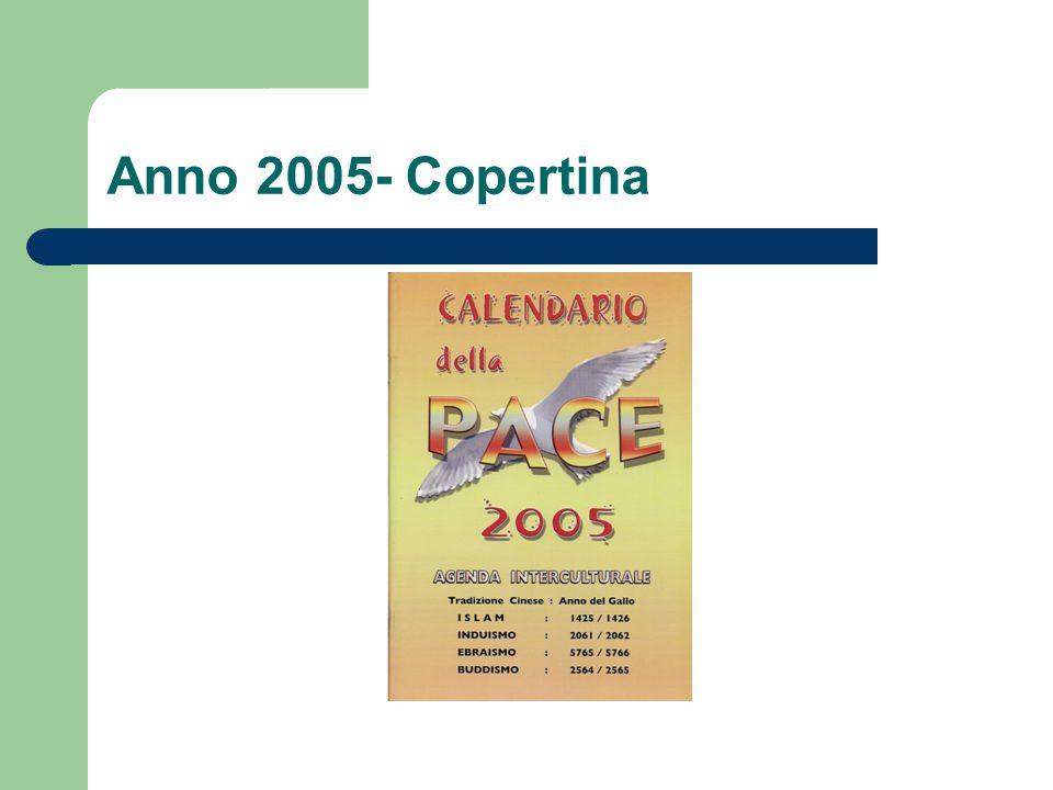 Anno 2005- Copertina