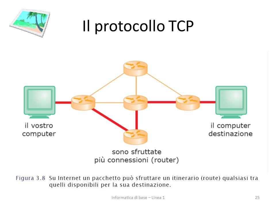 Il protocollo TCP 25Informatica di base – Linea 1