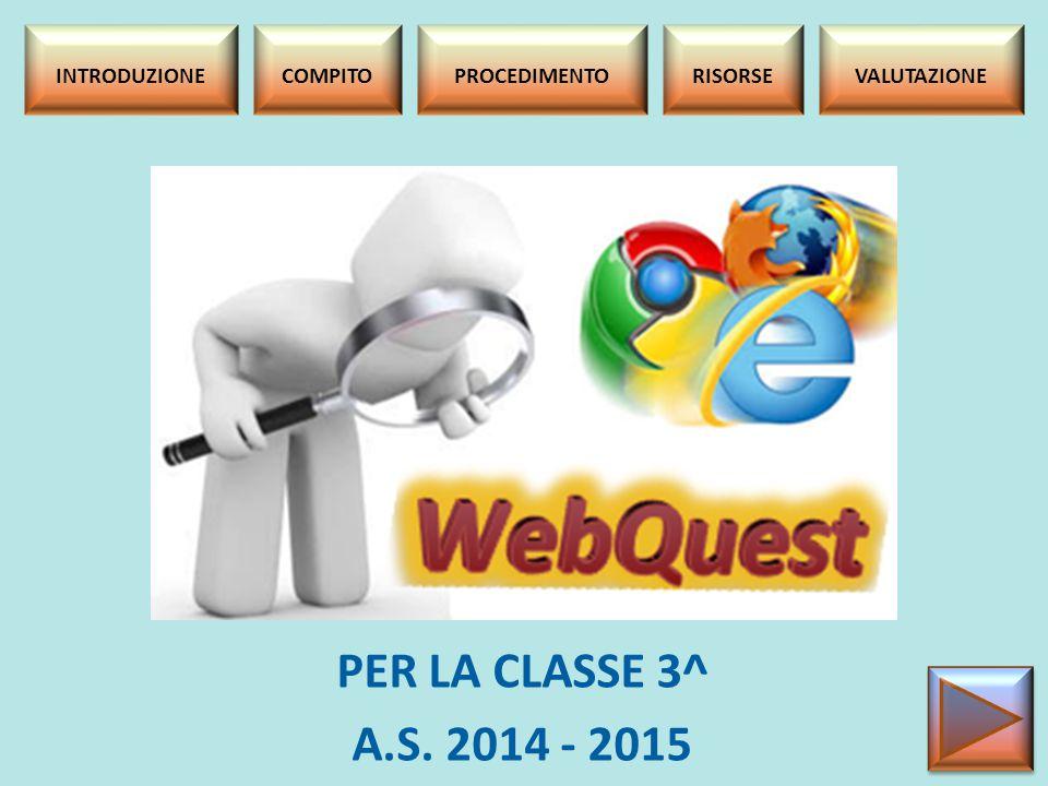 INTRODUZIONE Il webquest è una RICERCA strutturata e guidata IN RETE per recuperare INFORMAZIONI MIRATE su un argomento.