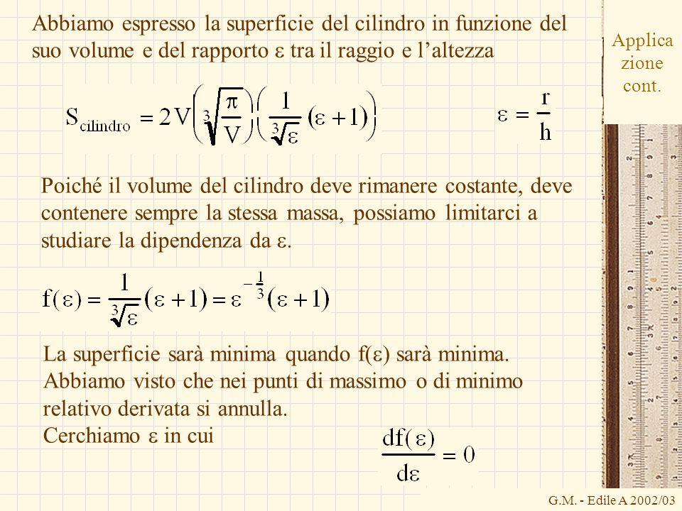 G.M.- Edile A 2002/03 Applica zione cont.