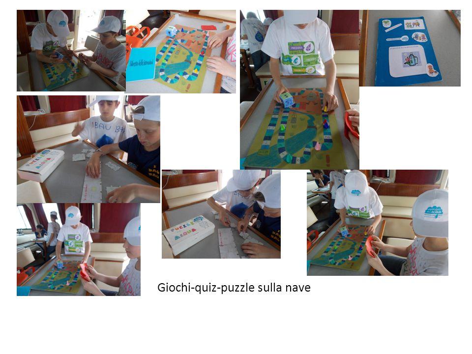 Giochi-quiz-puzzle sulla nave