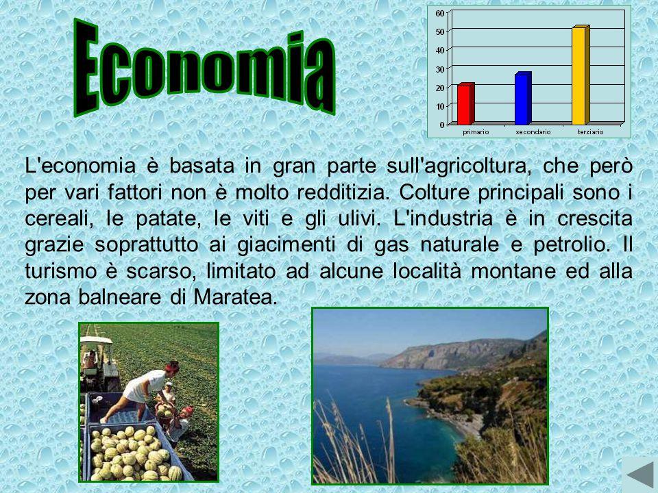L'economia è basata in gran parte sull'agricoltura, che però per vari fattori non è molto redditizia. Colture principali sono i cereali, le patate, le