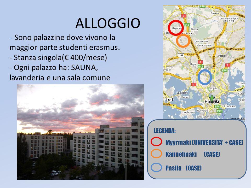 ALLOGGIO - Sono palazzine dove vivono la maggior parte studenti erasmus.