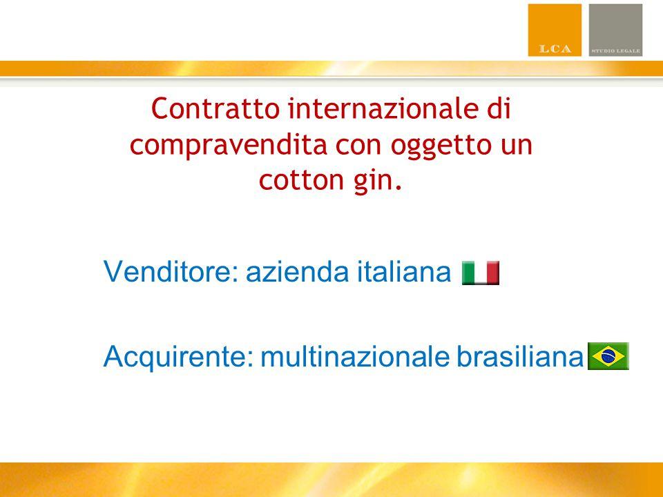Venditore: IL GIGLIO D'ORO Azienda di Firenze a conduzione familiare Leader mondiale nella produzione di macchinari tessili Fatturato aziendale annuo: 15 milioni