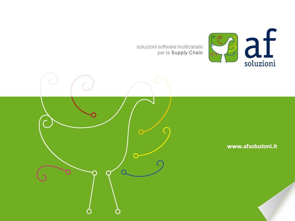 www.afsoluzioni.it soluzioni software multicanale per la Supply Chain