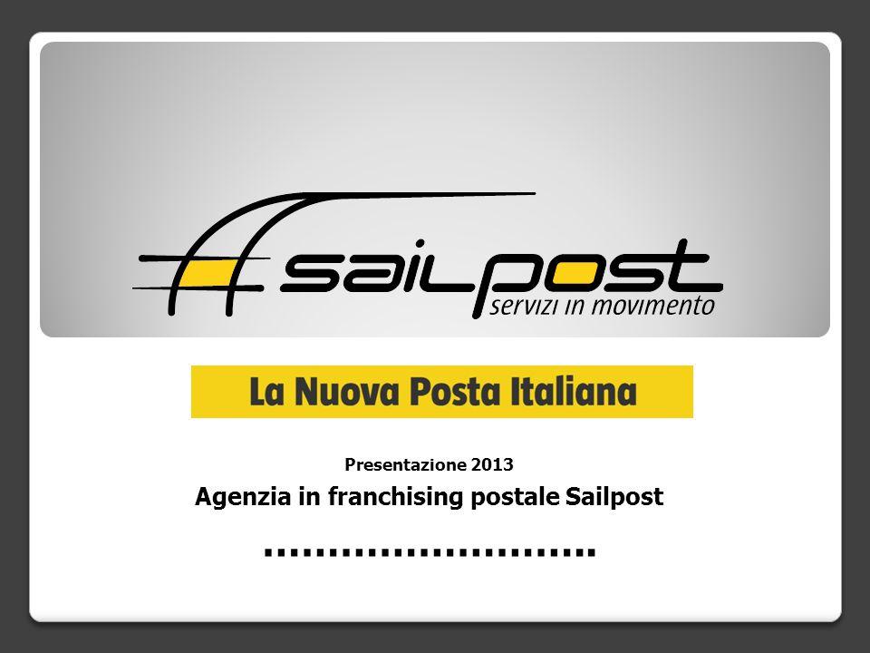 Chi siamo Sailpost è il marchio che contraddistingue una Rete di uffici postali della quale è titolare Citypost S.p.A.