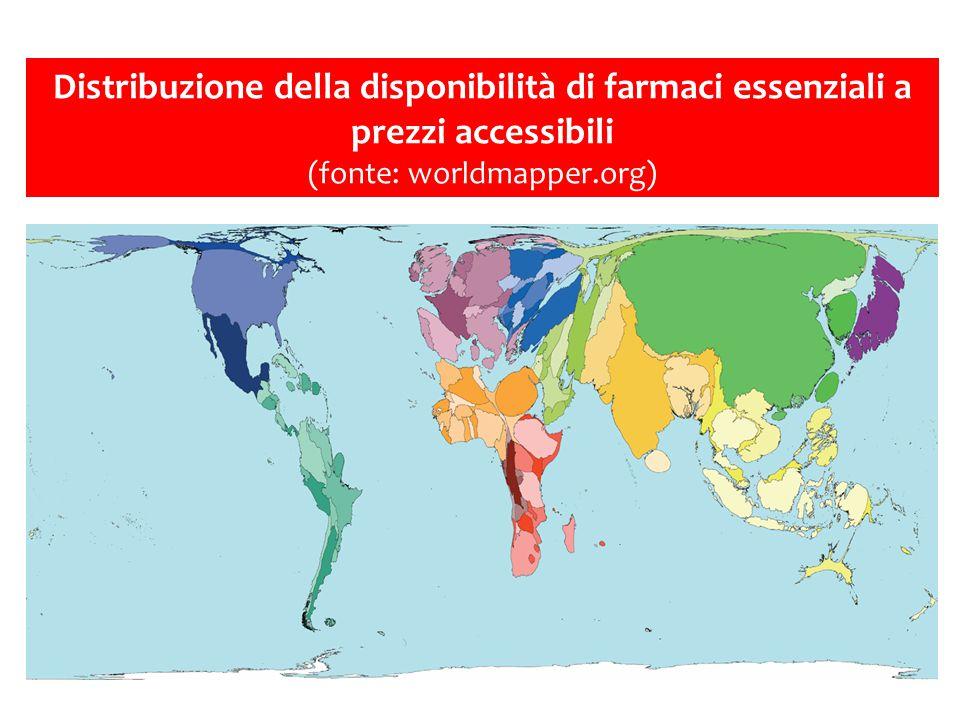 Copertura 3 dosi DTP, 2013 Source: WHO/UNICEF coverage estimates 2012 revision.