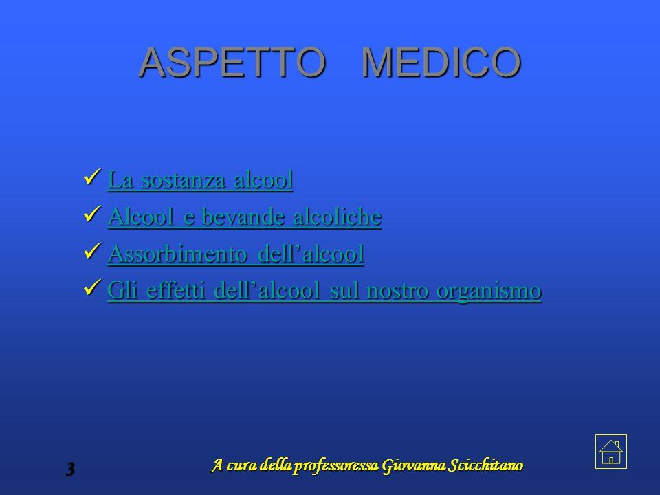 A cura della professoressa Giovanna Scicchitano 3 ASPETTO MEDICO L L aaaa s s s s oooo ssss tttt aaaa nnnn zzzz aaaa a a a a llll cccc oooo oooo llll