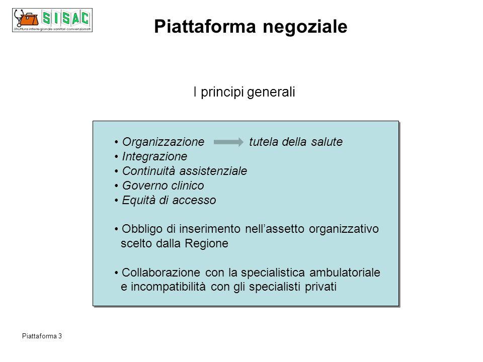 Piattaforma 2 I principali elementi di novità principi generali obiettivi specifici aspetti finanziari