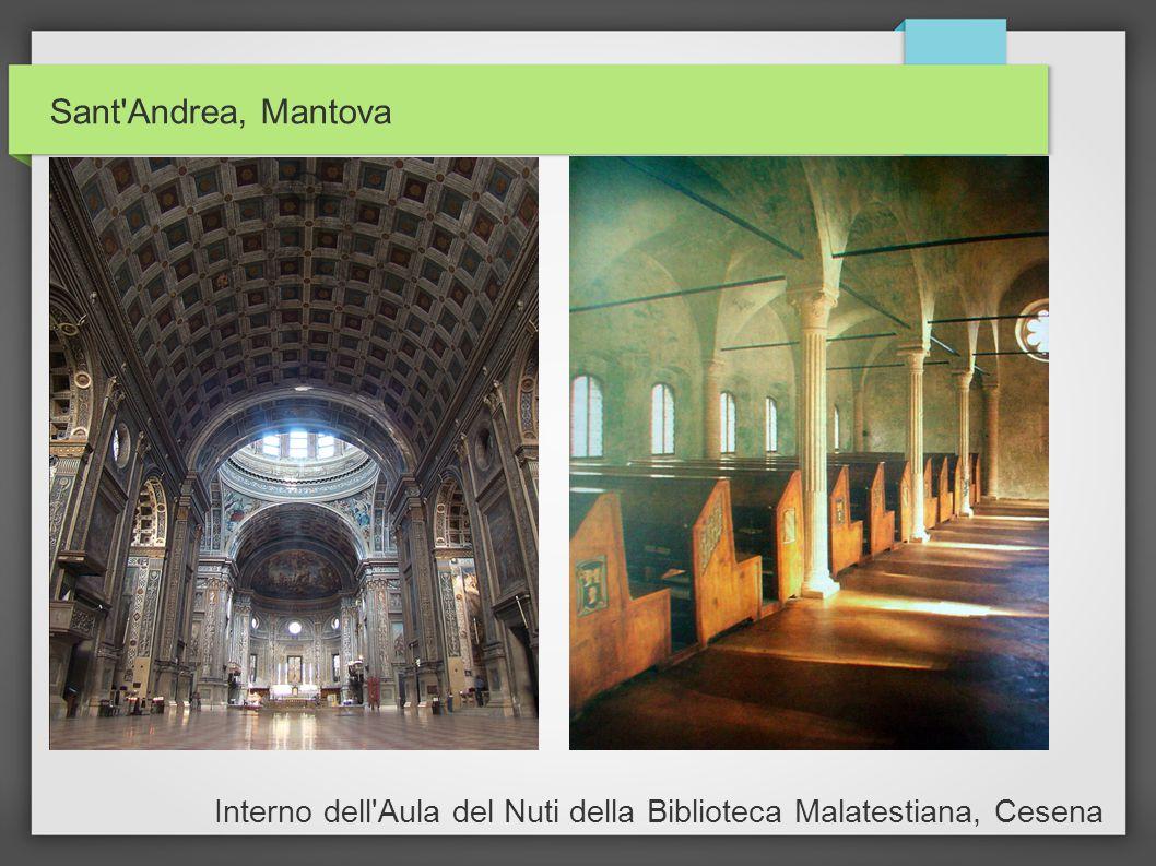 Sant'Andrea, Mantova Interno dell'Aula del Nuti della Biblioteca Malatestiana, Cesena