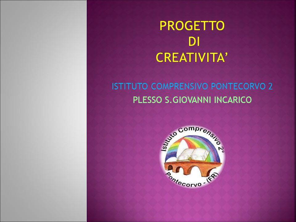 ISTITUTO COMPRENSIVO PONTECORVO 2 PLESSO S.GIOVANNI INCARICO