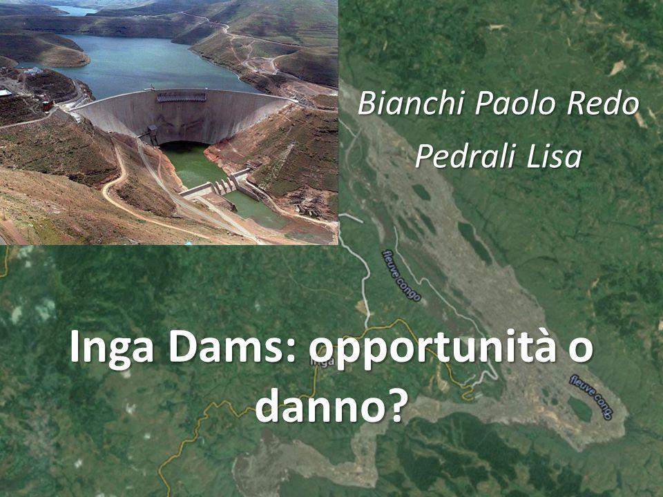 Inga Dams: opportunità o danno? Bianchi Paolo Redo Pedrali Lisa